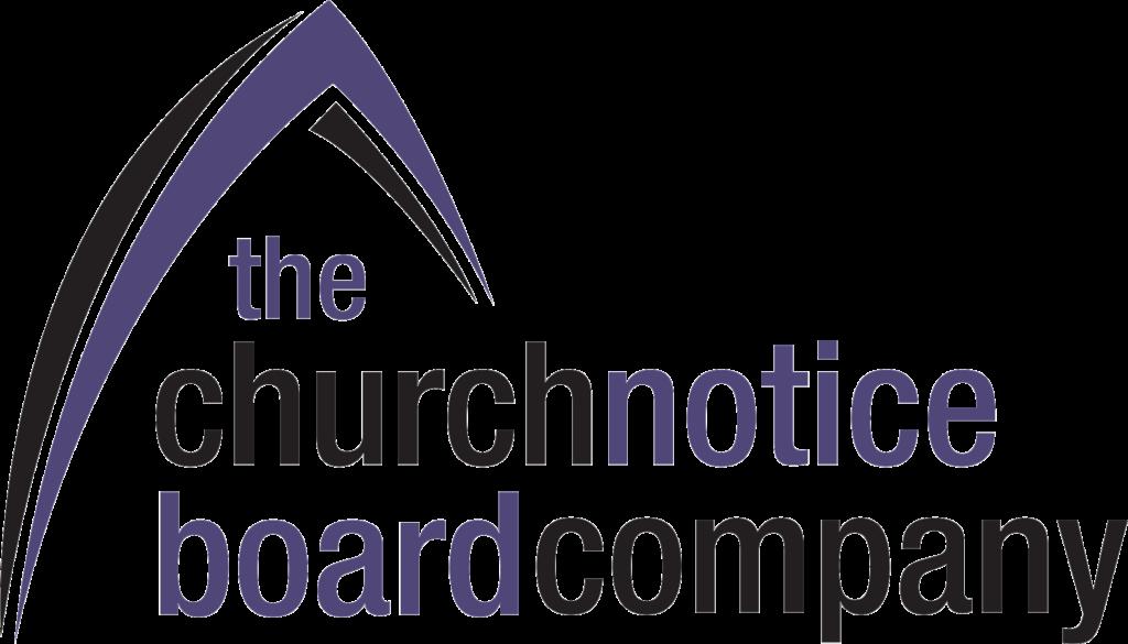 church notice board company logo